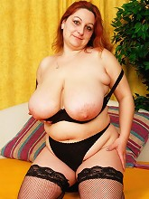 Busty big big babe loves to get...