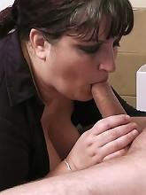 Lovely BBW slut earns herself a...