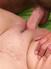 Flabby mature fatty having her...