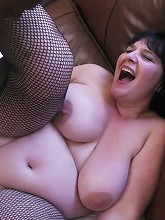 Fat ass slut black-dicked